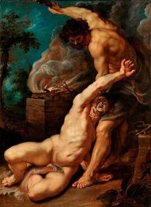 קין והבל לפול רובן, 1608. תצלום: ויקישיתוף. רשיון: CC